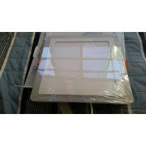 Plafon 3 Toques 24x24 Led Branco Embutir Gesso