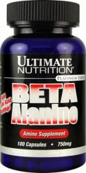 Beta Alanine Ultimate 100 Caps 750 Mg