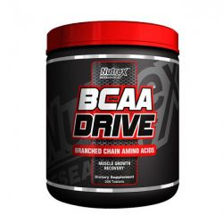 BCAA Drive Nutrex - 200 Tabletes - 5000mg