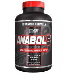 Anabol 5 Black (120 Cápsulas) - Nutrex
