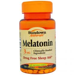 Melatonina Sundown 3mg - 60 Comprimidos