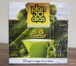 Chá Plan 30 Dias Té Guaraní Cx. Com 60 Sachês