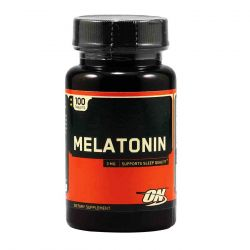 MELATONINA 3 MG OPTIMUM NUTRITION (100 CÁPSULAS)