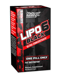 Lipo 6 Black Ultra Concentrado 60 Caps - americado