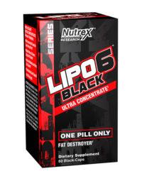 Lipo 6 Black Ultra Concentrado 60 Caps - americado