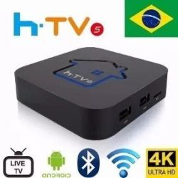 Htv5 Ultra Hd 4k Wi-fi Bt Iptv Smart Tv - Original