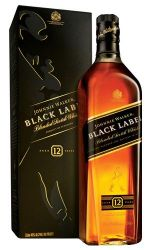 Whisky Johnnie Walker Black Label 1000 ml