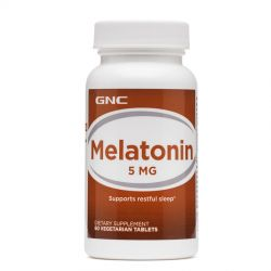 Melatonina GNC 5mg 60 Cáps