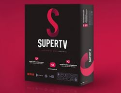 Receptor Super Tv  black Iptv Android