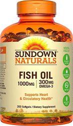 Fish Oil - 200 Caps - Sundown