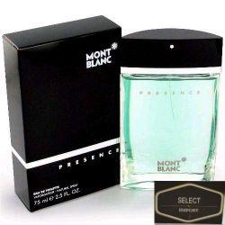 Perfume Montblanc Presence Masculino Edt 75ml - Original