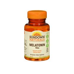 Melatonina 10mg Sundown Naturals Maximum Strength Melatonin 10mg 90 capsulas