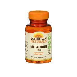 Melatonina 10mg Sundown Naturals Maximum Strength Melatonin 10mg 90 capsulas