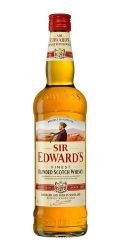 Whisky Sir Edwards Blended 1000 Ml Puro Escocês