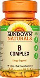 Sundown - Complexo B - 100 Comprimidos