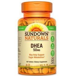 DHEA 50MG SUNDOWN - 60 COMPRIMIDOS