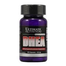 DHEA 50  mg  -100 Cápsulas Ultimate Nutrition